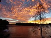 Sunrise over Keowee