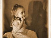 Bella portrait of a little girl