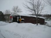Covered Bridge/Snow