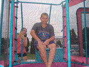 St. John's UCC 11 yr. old Zachary Seltzer, enjoys getting dunked in the dunk tan