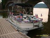 2nd Parade of Lights/Caroline Jane pontoon