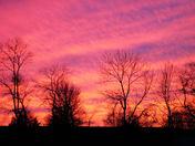 Sunset in Adamstown