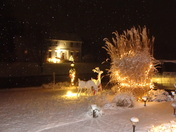 A beautiful, snowy Christmas Eve