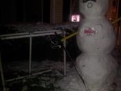 Annville-Cleona Hockey Snowman