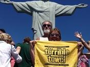 Terrible Towel Christ the Redeemer