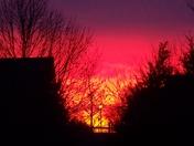 Sunrise in Manheim
