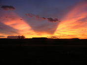 Sunset at Cimarron NM