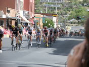 Men's Pro Bike Race in Silver City