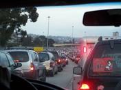 Traffic Jam at the Border