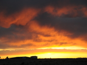 Setting Sun in Santa Fe
