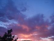 Sun Setting in Belen