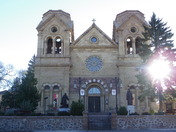 the Cathedral Basilica in Santa Fe