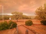 Eerie Smoky Sunset near Silver City.JPG