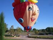 Friut Girl Balloon