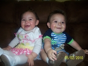 Ava Aurora Salazar and Gavin Lee Salazar