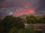 Sunset on the Mimbres!