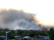 warehouse fire 8:13 pm 6-23-10