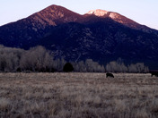 Sundown in Taos Thanksgiving #1