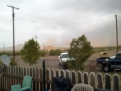 dust  storm East of Lordsburg,N.M.