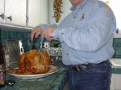 Brother Michaeal and the Turkey!