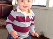 First Birthday Colt Adrian Salas