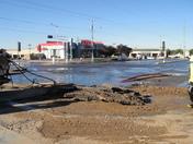 Sinkhole at Juan Tabo & Montgomery