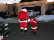 Santa and his Assistant