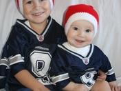Dallas Cowboy Santas
