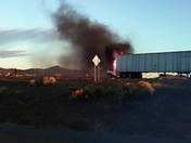 FWD:Truck on fire on 1-25