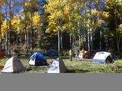 Camping in the Jemez