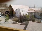 Wind damage at Elephant Butte