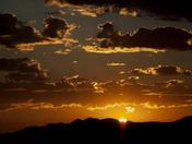 Cerrillos Mountain Sunrise