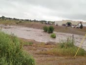 Roswell flood by discount tire north of Roswell when it first started have never