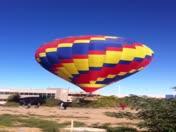 Video balloon landing