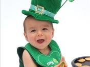 Bobby St. Patrick Deleon 1st Birthday Photo