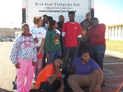 Callaway Chargers Band Doing Charitable Deeds