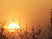 A beautiful April sunset