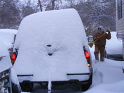 Snow Storm 020911 Osage Co, Near Ponca City