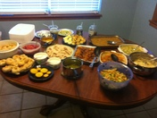 Thanksgiving food pic
