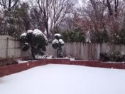 Still snowing nw OKC