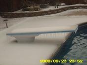 frozen diving board