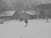 Todays snow