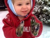 Lovin' the snow!