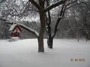 Snow in Guthrie