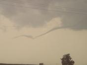 Tornado in Yukon