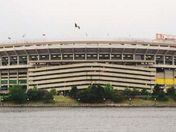 The old Three Rivers Stadium
