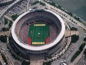 Pittsburgh Steelers old Three Rivers Stadium