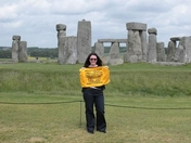 Terrible Towel at Stonehenge