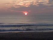 Sunrise at Sandbridge Sept 2009