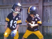 In Denver Luke Polamalu & Ben are ready for the Bengals